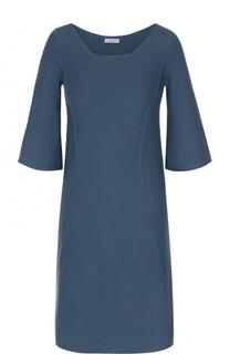 Платье с круглым вырезом и укороченным рукавом malo