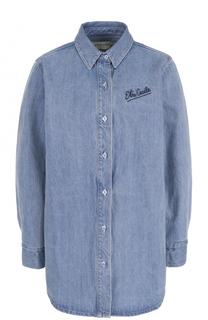Удлиненная джинсовая блуза свободного кроя Etre Cecile