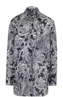 Блуза свободного кроя с принтом Acne Studios