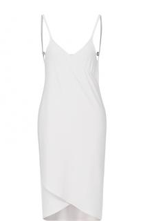 Платье асимметричного кроя с открытой спиной La Perla