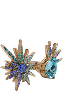 Кольцо с кристаллами Swarovski Oscar de la Renta
