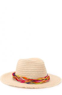 Шляпа Courtney с повязкой из перьев Eugenia Kim