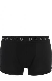Хлопковые боксеры с широким поясом HUGO
