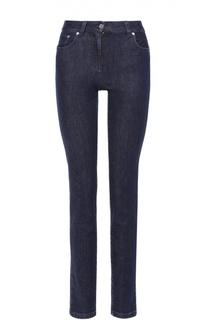 Укороченные джинсы-скинни с завышенной талией Emilio Pucci
