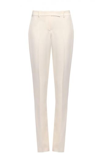 Шерстяные брюки прямого кроя со стрелками Ralph Lauren