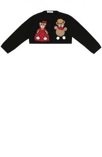 Кардиган джерси с вышивкой Dolce & Gabbana