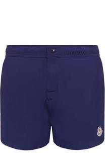 Плавки-шорты с контрастной отделкой Moncler