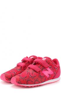 Комбинированные кроссовки 410 с застежками велькро New Balance