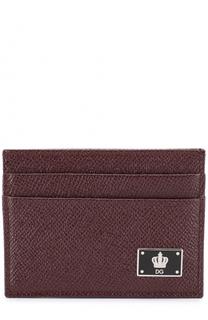 Кожаный футляр для кредитных карт Dolce & Gabbana