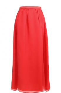 Шелковая юбка-макси Armani Collezioni