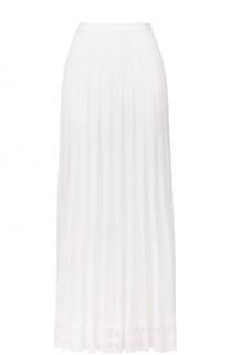 Вязаная юбка-миди Oscar de la Renta