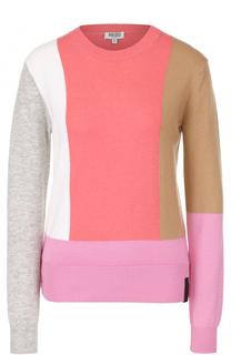 Пуловер прямого кроя с круглым вырезом Kenzo