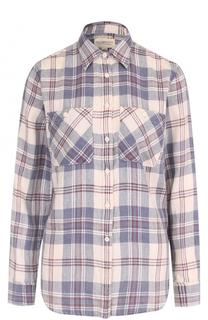Блуза прямого кроя в клетку Denim&Supply by Ralph Lauren