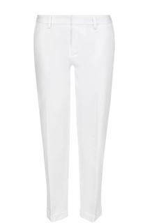 Укороченные брюки прямого кроя с отворотами Dsquared2