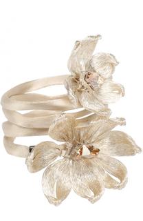 Резинка с цветочным декором Colette Malouf