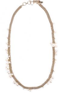 Колье Perles с бусинами Lanvin