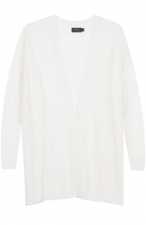 Удлиненный льняной кардиган свободного кроя Polo Ralph Lauren