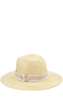 Соломенная шляпа с повязкой Inverni