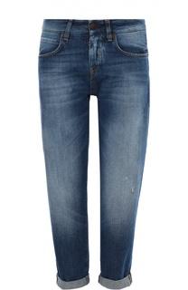Укороченные джинсы прямого кроя Two Women In The World