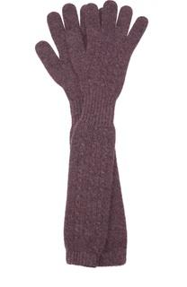 Удлиненные перчатки из кашемира Kashja` Cashmere