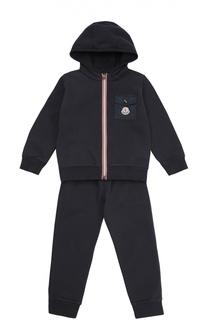 Хлопковый спортивный костюм Moncler Enfant