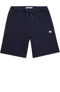 Хлопковые шорты с карманами Burberry