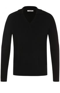 Пуловер из смеси шерсти и кашемира с отложным воротником Valentino