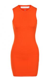 Облегающее мини-платье без рукавов Victoria Beckham