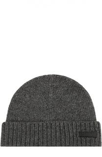 Вязаная шапка с отворотом Dsquared2
