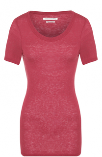 Шелковая приталенная футболка Isabel Marant Etoile