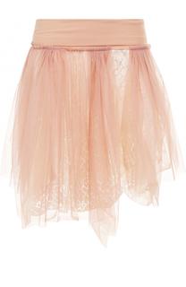 Кружевная пышная мини-юбка Deha