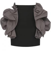 Мини-юбка с декоративной отделкой Dsquared2