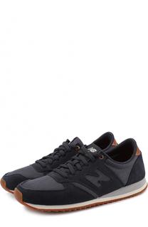 Комбинированные кроссовки 420 на шнуровке New Balance
