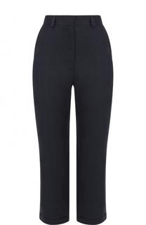 Укороченные брюки с контрастными лампасами Tegin