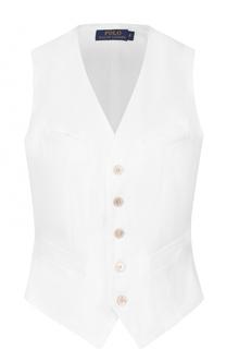 Приталенный жилет на пуговицах Polo Ralph Lauren