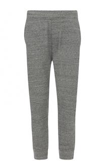 Хлопковые брюки с заниженной линией шага Dsquared2