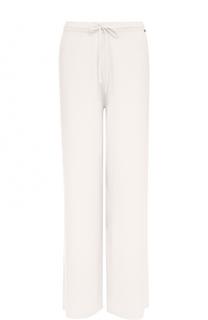 Кашемировые брюки прямого кроя St. John