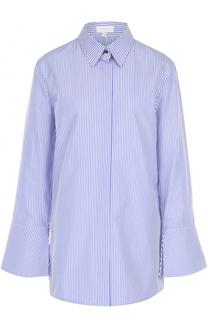 Блуза в полоску с расклешенными рукавами Escada Sport