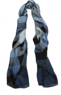 Шелковый шарф в клетку Burberry