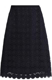 Кружевная юбка А-силуэта St. John