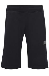 Хлопковые шорты джерси с карманами Stone Island
