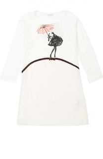 Ночная сорочка с рисунком La Perla