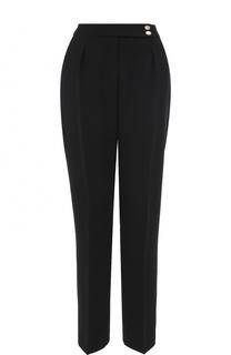Укороченные брюки с завышенной талией BOSS