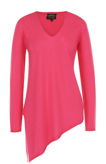 Кашемировый пуловер асимметричного кроя Escada