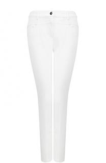 Однотонные джинсы прямого кроя Escada
