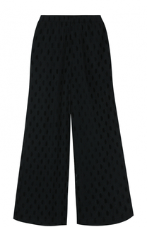 Укороченные полупрозрачные брюки свободного кроя MCQ