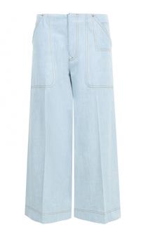 Укороченные расклешенные джинсы со стрелками Acne Studios