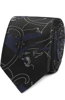 Шелковый галстук с принтом Camupanther Valentino