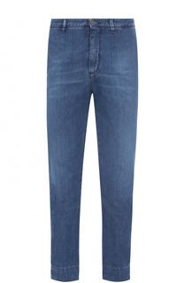 Укороченные джинсы прямого кроя 2 Men Jeans