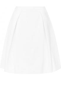 Мини-юбка А-силуэта с защипами Windsor